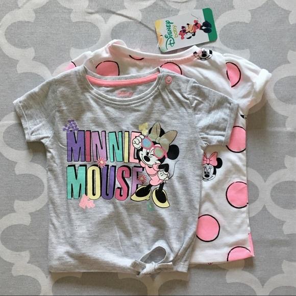 9551e91ea257 Disney Minnie Mouse 2pc tops Baby T-shirts Primark